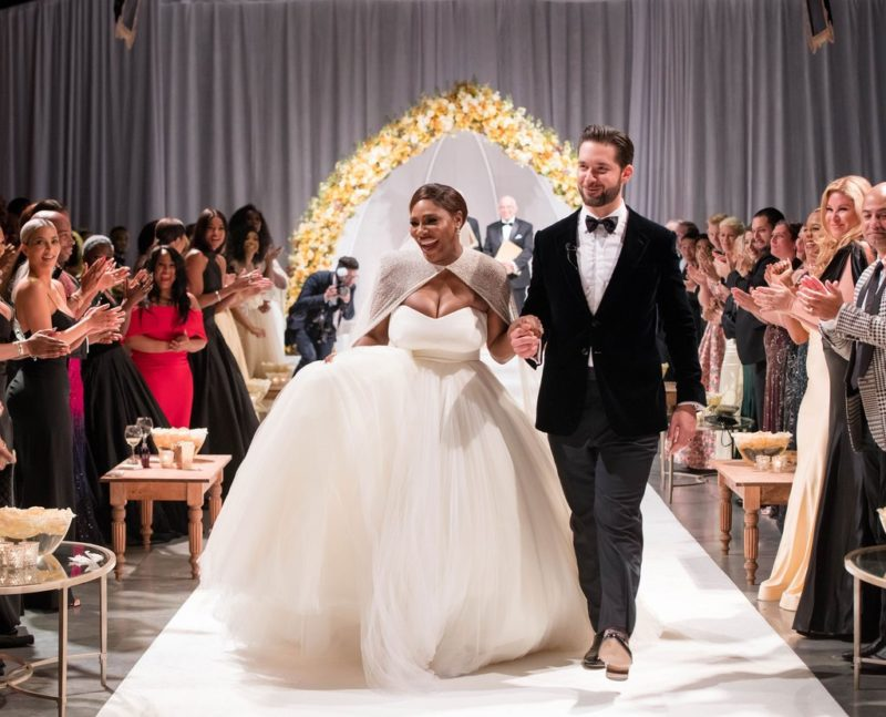 Serena and Alexis ties the knot