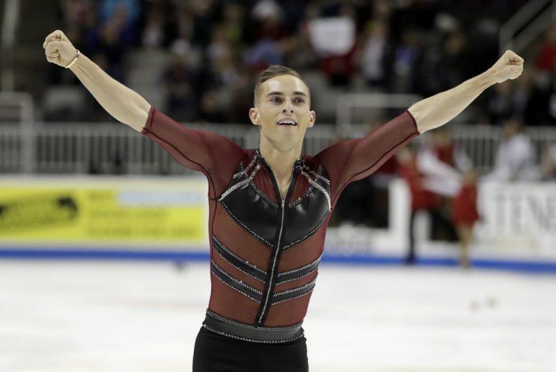 Adam Rippon [US figure skater]