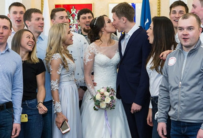 from russia with bride