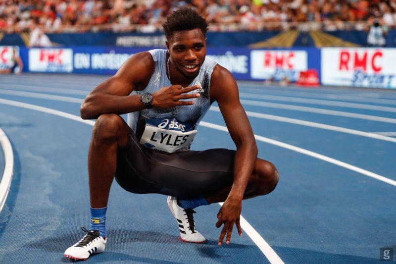 File:Noah Lyles in the 100m at the 2020 Gyulai Memorial in